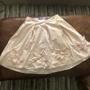Fabulous Prada Cotton Flower Skirt